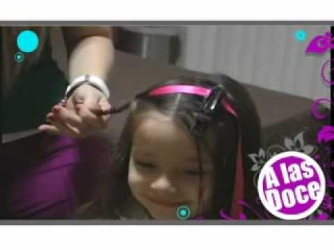 peinados para niña 3 diciembre - YouTube