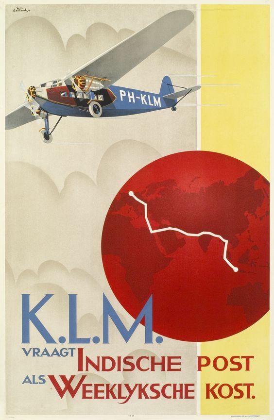 Reclame voor Luchtpost naar Nederlands-Indië 1931