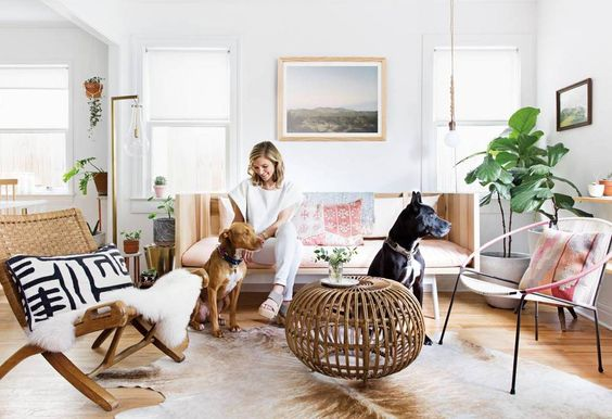 See more images from claire zinnecker's summer issue moment: a light lift on domino.com