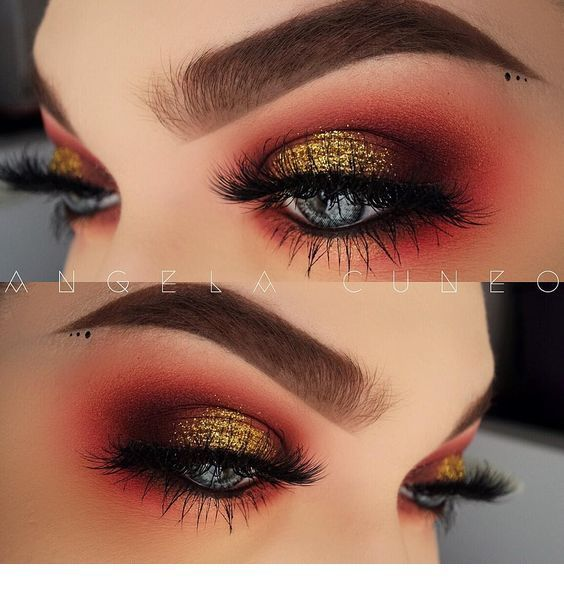 Crazy Eyes Look Miladies Net Makeup Makeup Eyeshadow
