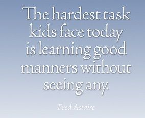 5 Very Important Manners To Teach Your Kids