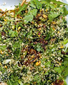 Green Couscous - ich liebe Ottolenghis Rezepte...