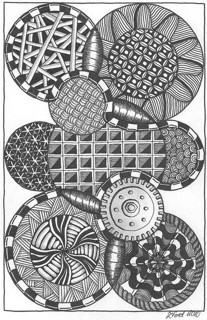 Circles Circle Doodles And Patterns On Pinterest