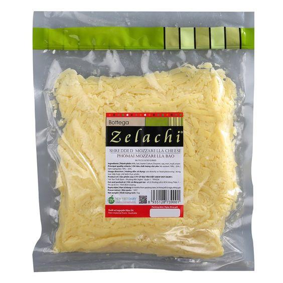 Phô Mai Mozzarella Sợi Bottega Zelachi - Gói 1 Kg