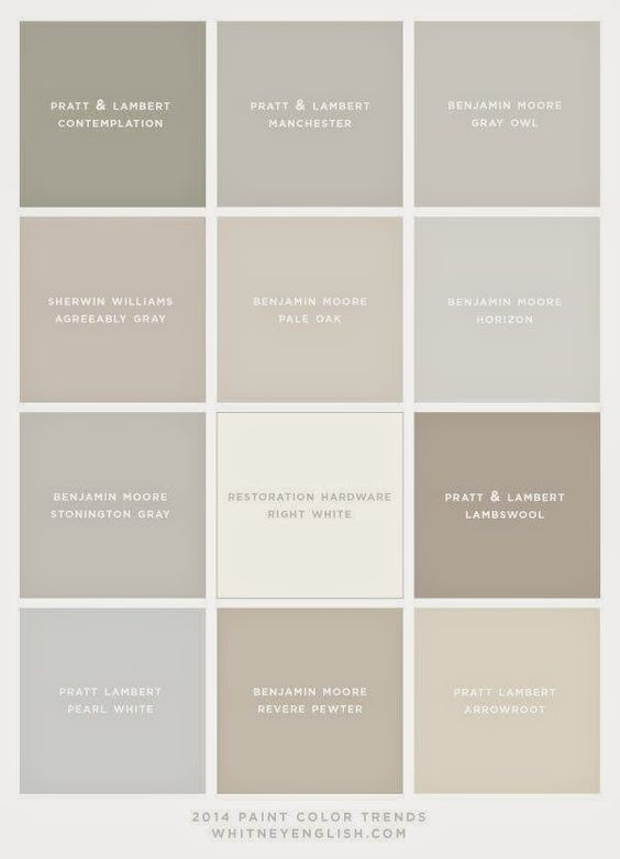 Sherwin Williams The 10 Best Gray And Greige Paint Colours Colors Online Coloring