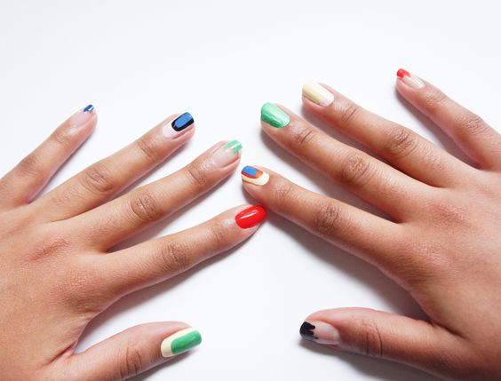 pop art nail art #xoVain