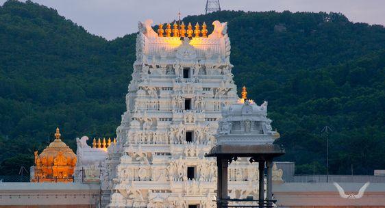 Tirumala Venkateswara Temple, in Andhra Pradesh