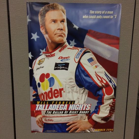 Talladega Nights Coming Summer 2006 Movie Poster