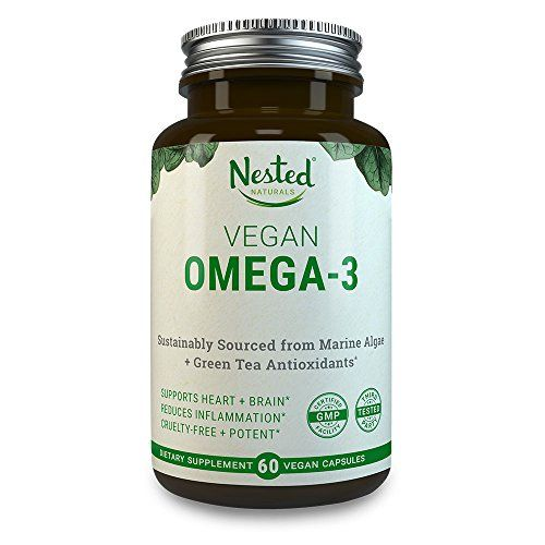 Vegan Omega 3 Dha Epa Supplement Plant Based Omega 3 Fatty Acids With Algae Oil More Absorbable Improved Formula Vitamins For Joints Healthy Detox Cleanse Healthy Detox Superfood Powder