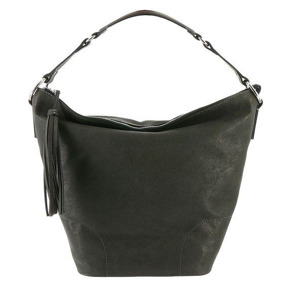 Nine West Tassel Times Hobo Bag. Tassle on zipper. 2 slip pockets, 1 zip pocket. Shoulder strap.