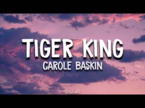Carole Baskin Tiger King Song Lyrics Carole Baskin Killed Her Husband Whacked Him Youtube In 2020 Song Lyrics Songs Lyrics