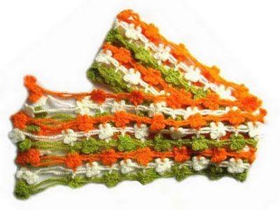 Soniando...: Lindos modelos de cachecóis em crochet ideais para meia estação aqui do sul