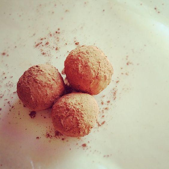 Salted caramel and whisky truffles   instagram photo @designconundrum