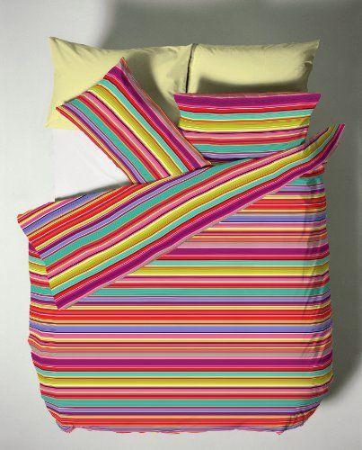 Catherine Lansfield 200 x 200 cm Plus 50 x 75 cm/ 2-Piece Bright Stripe DB Quilt Set, Set of 1 Catherine Lansfield http://www.amazon.co.uk/dp/B00I4SSYQC/ref=cm_sw_r_pi_dp_-OsVub1MEGT6F