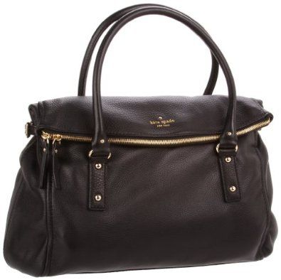 Amazon.com: Kate Spade Cobble Hill Leslie Satchel,Black,one size: Shoes