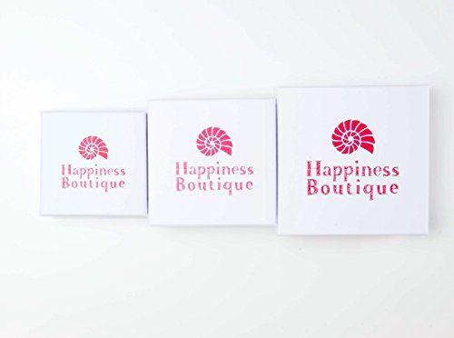 Happiness Boutique Femmes Collier Boho avec Pendentif en Argent | Collier avec Pendentif en Marbre sans nickel
