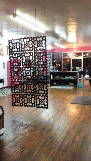 Hair Salons, Room Dividers And Salon Shampoo Area On Pinterest