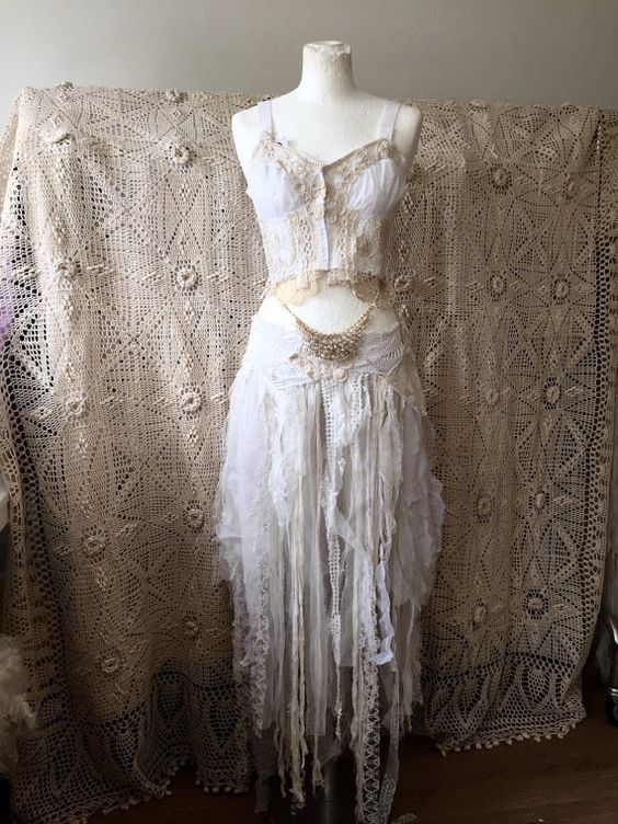 Fairies fairytale and tulle on pinterest for Elven inspired wedding dresses