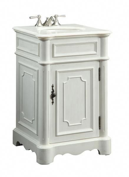 Dimensions 21 X 19 X 33 H Add A Petite Classic Design Teega Your Bathroom With This Space Saving Bathroom Vanit Powder Room Vanity Bathroom Vanity Vanity Sink