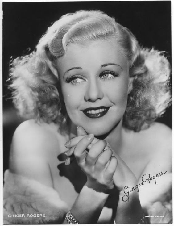 Ginger Rogers #hollywood #classic #actresses #movies