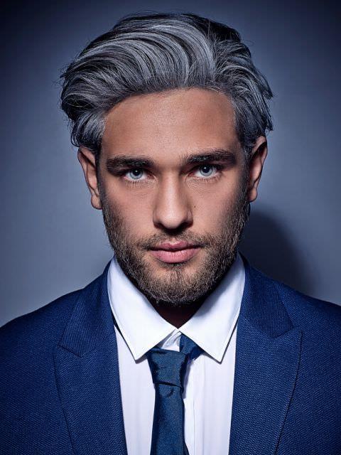 Mannerfrisuren Vorne Wenig Haare Graue Haare Manner Frisur
