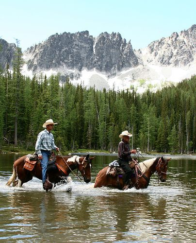 """Reminds me of our trip to Montana last year. Will definitely do this again. Best hours ever spent in the saddle!"""