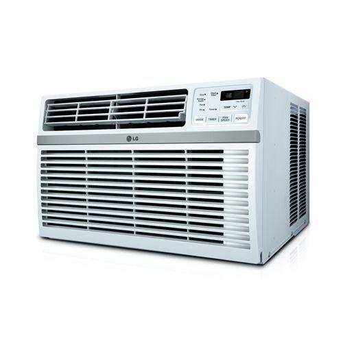 Lg Lw2516er White 24500 Btu 208 230v Window Air Conditioner With Three Fan Speeds Remote Control Allergyandair Com Window Air Conditioner Air Conditioning Filters Energy Efficient Design