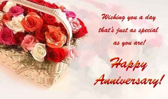 Happy Wedding Marriage Anniversary Greeting Wishes Cards