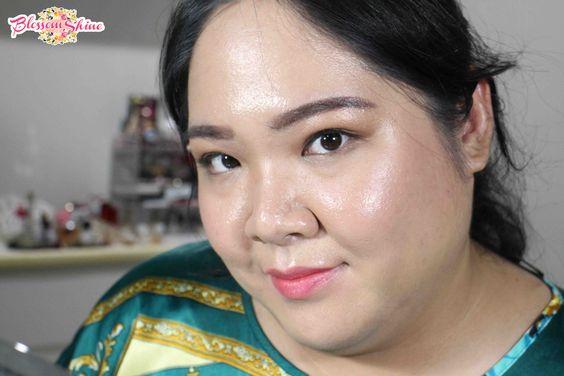 Tampilanku setelah 6 jam; full Face makeup dengan menggunakan primer dan concealer, tanpa touch up sama sekali