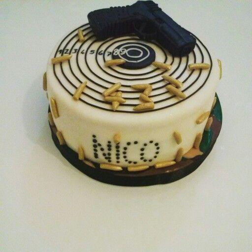 Gun cake Pistola cake