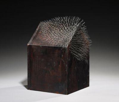 """Günther Uecker, """"Stachelhaus für Stachelhaus""""., 1967"""