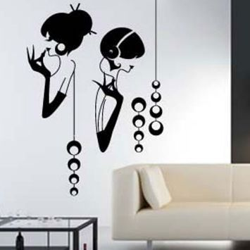Impressions Lets Party Wall Decal