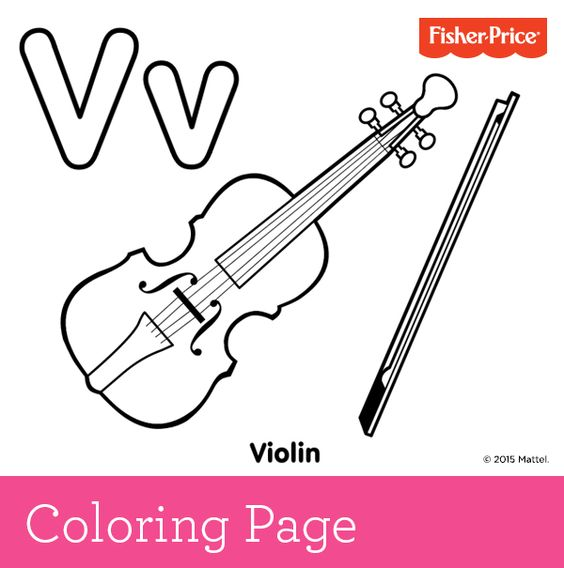 V Is For Violin Your Budding Musician Can Have A Little Fun Play Some Classical Music