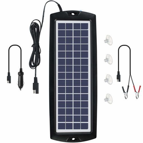 Best Solar Car Battery Chargers In 2019 Reviews Solar Battery Charger Solar Car Solar Battery