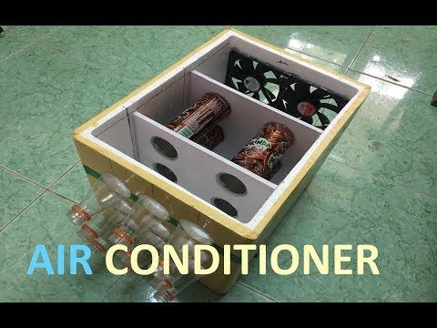How To Make Portable Air Conditioner At Home Saving Ice Cold Youtube Portable Air Conditioner Air Conditioner Diy Air Conditioner