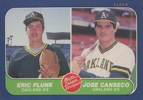 1986 Fleer Baseball Cards 11 Most Valuable Wax Pack Gods Jose Canseco Baseball Cards Baseball