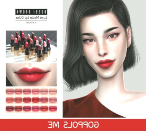 Lana Cc Finds In 2020 Lip Colors Matte Lip Color Lips 4k television with and without. pinterest