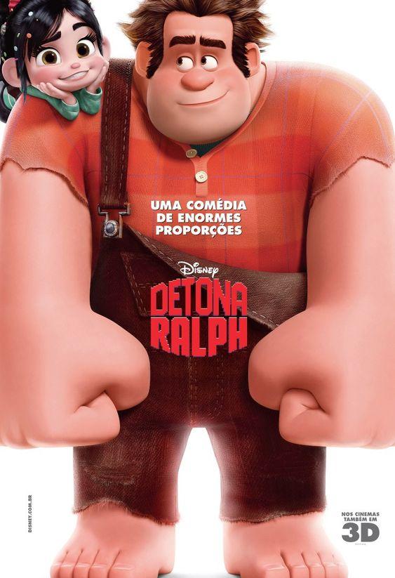 Disney's Wreck-It Ralph. Detona Ralph. International poster.
