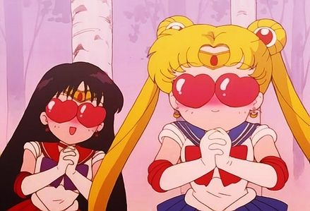 Sailor Mars and Sailor Moon