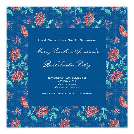 Bachelorette Invitation as luxury invitation layout