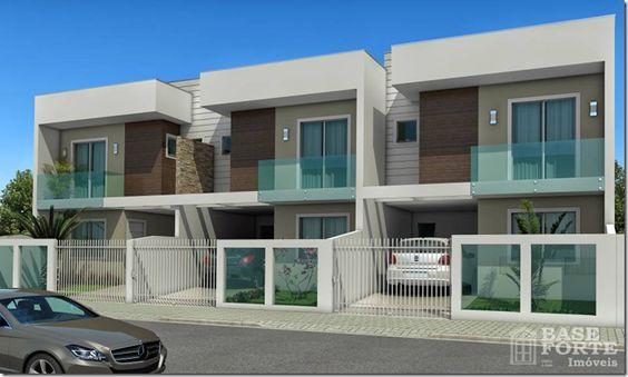 Lindos modelos de fachadas para sobrados ideias para a for Modelos de fachadas de casas