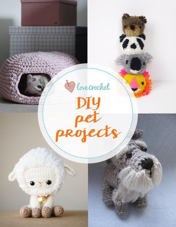 DIY crochet pet projects on LoveCrochet