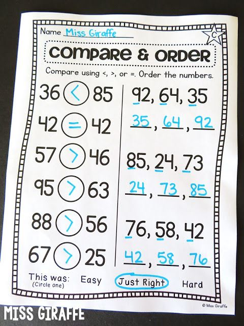 Pin On Projects To Try 1st grade ordering numbers worksheets