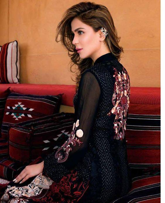 Zainab Chottani Embroidered Chiffon Eid Collection 2016 | PK Vogue