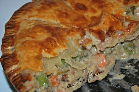 The Beefy Life: Spring Time Asparagus and Chicken Pot Pie