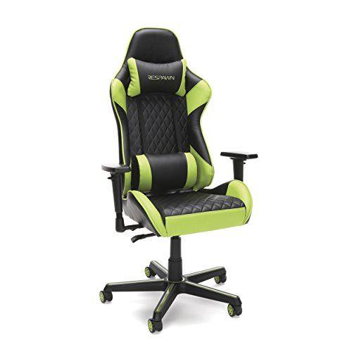 امازون عربي Amazon Arabic Respawn 100 كرسي الألعاب كرسي مريح Ergonomic Chair Gaming Chair Green Chair