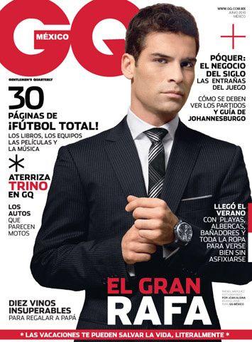 Junio en GQ con Rafa Márquez