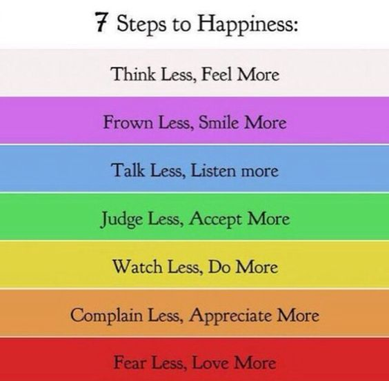 7 Steps to Happiness ^^