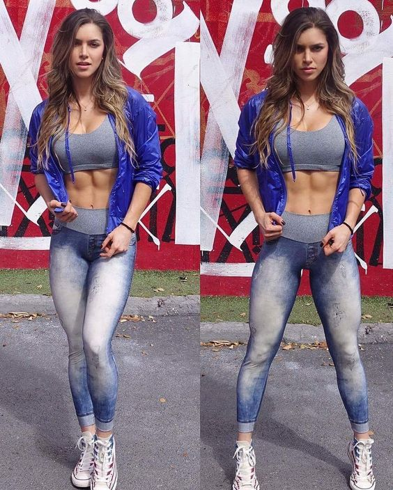 ANLLELA SAGRA  - sexiest fitness woman hottest model in world