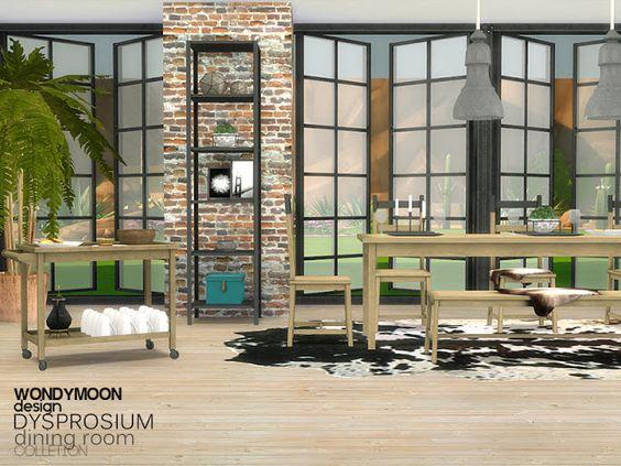 Sims 4 CC's - The Best: Diningroom by Wondymoon